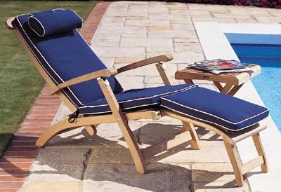Westminster Teak – Teak Steamer Chair Cushions